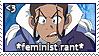 Feminist - Avatar by dedkake