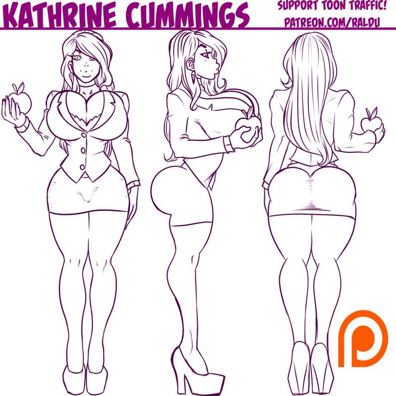 Kathrine character sheet by RalDu