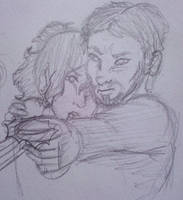 McAdie and T'Sai by KaptynQerq