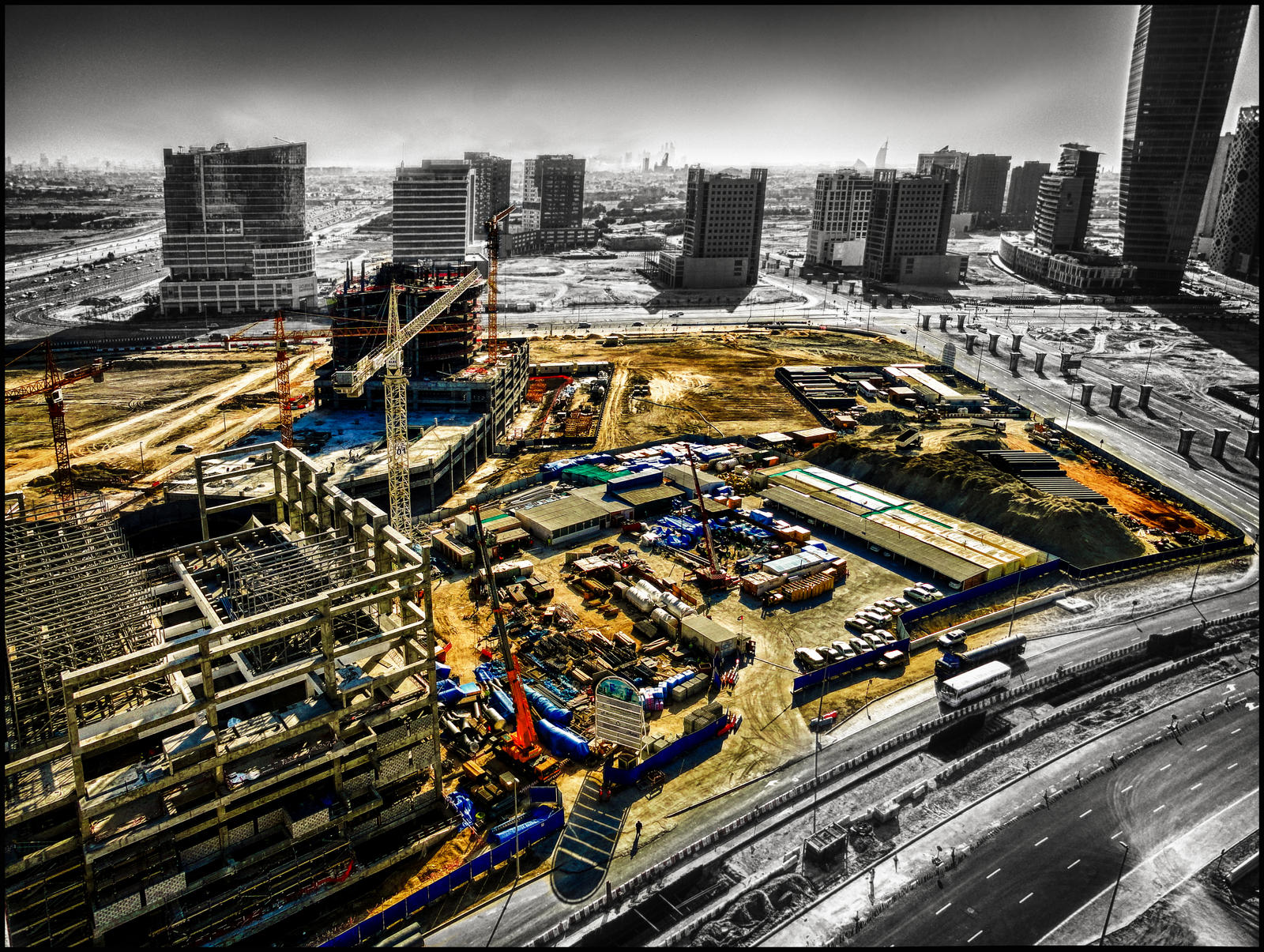 Dubai  A Work in Progress III by Celestial22