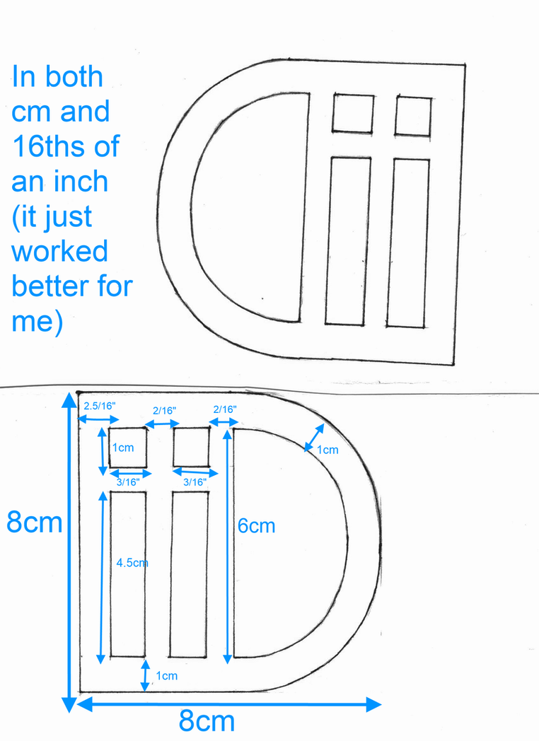 measurements template