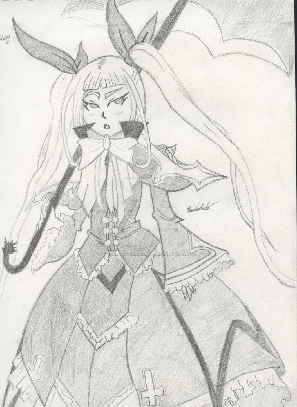 Rachel Alucard doodle by FantasyRebirth96