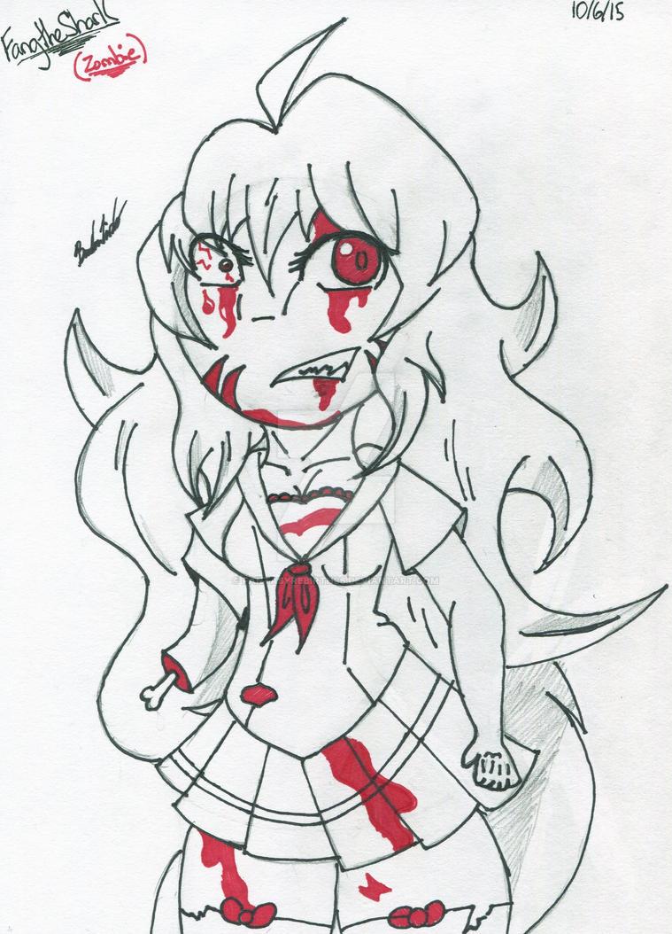 Art Trade- Zombie Fang by FantasyRebirth96