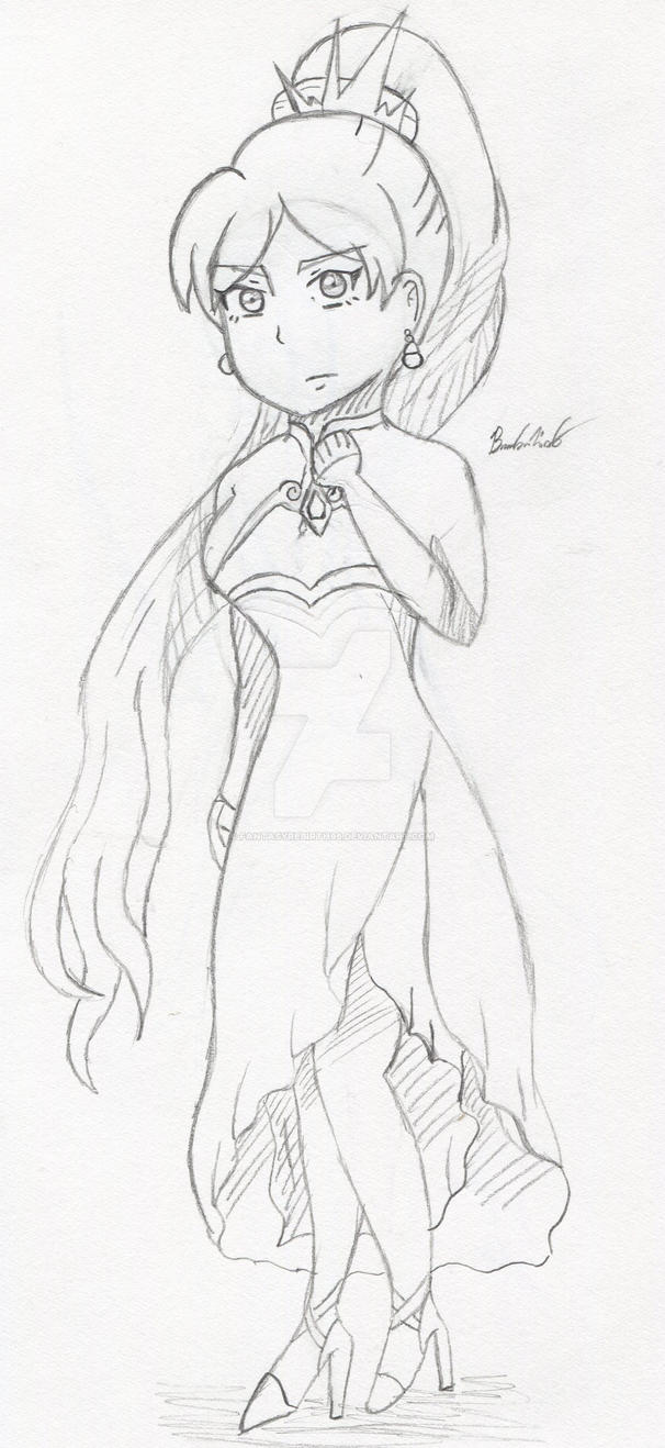 Weiss Schnee Doodle by FantasyRebirth96