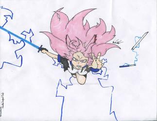 Yae Sakura drawing