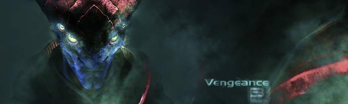 Mass Effect 3: Javik Banner by Jahnfo