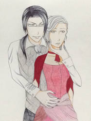 Request: Claude Faustus x Madeleine Hawthorn by ShadowMassacre134
