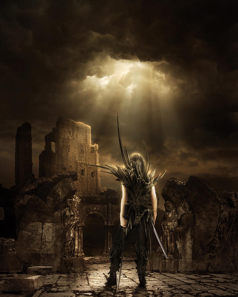 The Warrior II by ShadowElement dans Darkness The_Warrior_II_by_ShadowElement