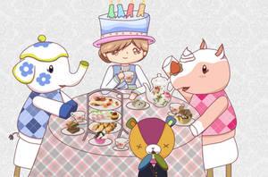 Tea party~