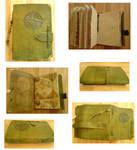 Handmade Leather Book-Compass