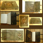 Pentacle Handmade Leather Book