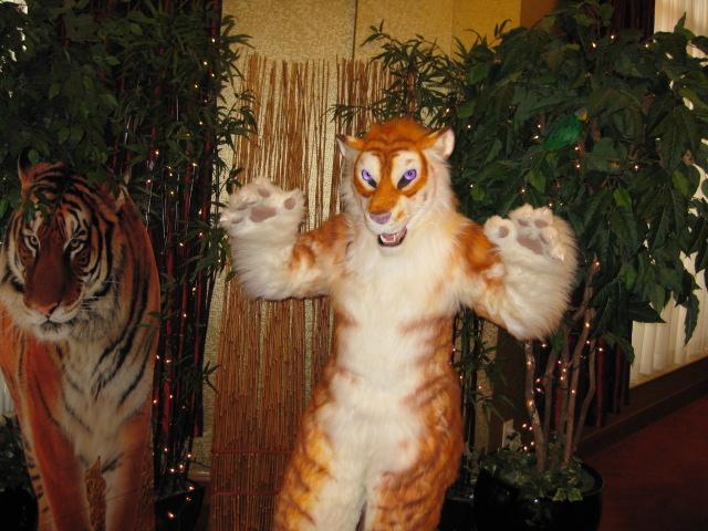 Golden Tiger Costume by MaewynShadowtail