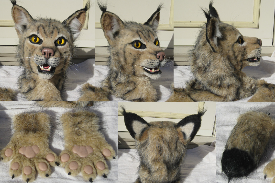 Bobcat Costume - Sold by MaewynShadowtail