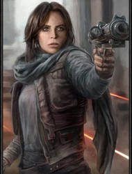 Jyn Erso by MaximusSupremo