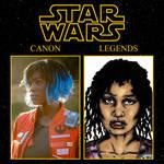 SW Canon vs Legends: Vi Moradi vs Shalla Nelprin