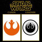 SW Canon vs EU: Resistance vs Jedi Coalition