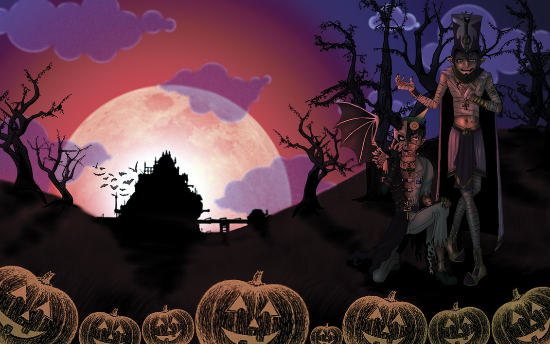 This is Halloween WP by Time-King