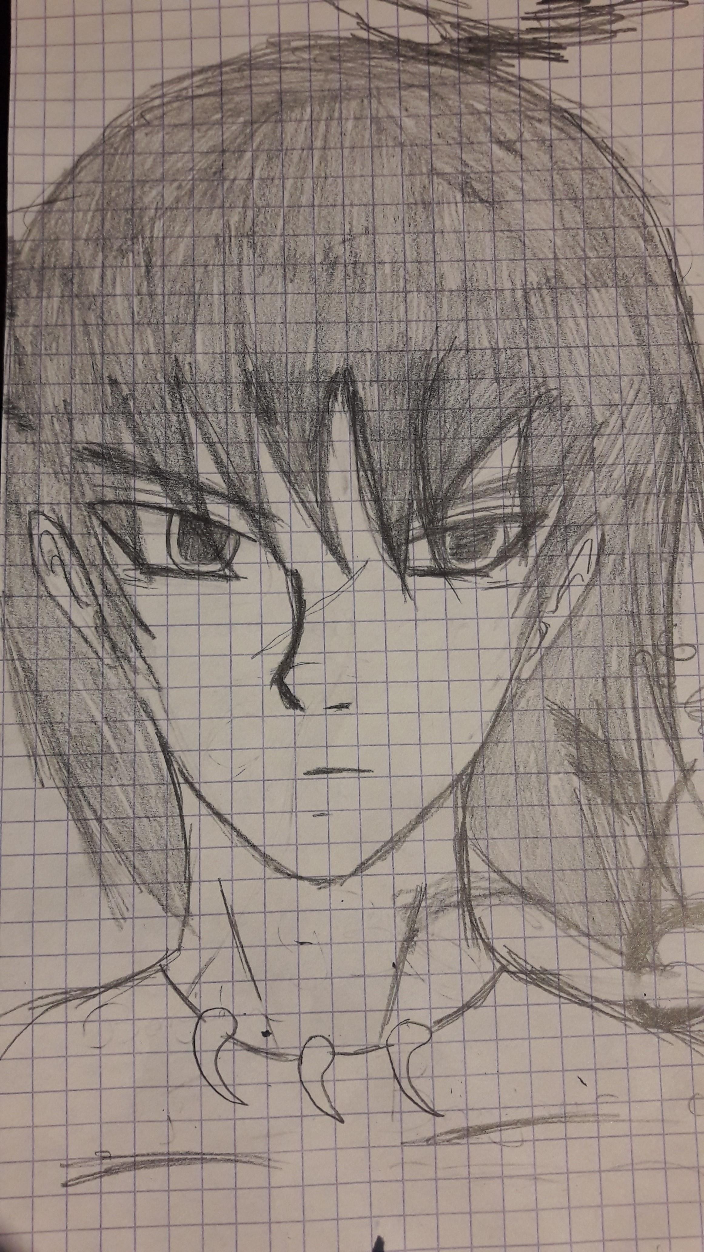 Random Boy Sketch. by LobanRen