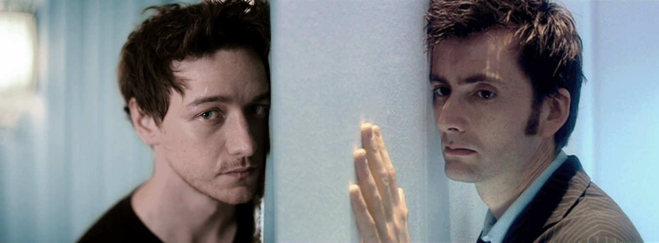 James McAvoy and David Tennant. by LobanRen