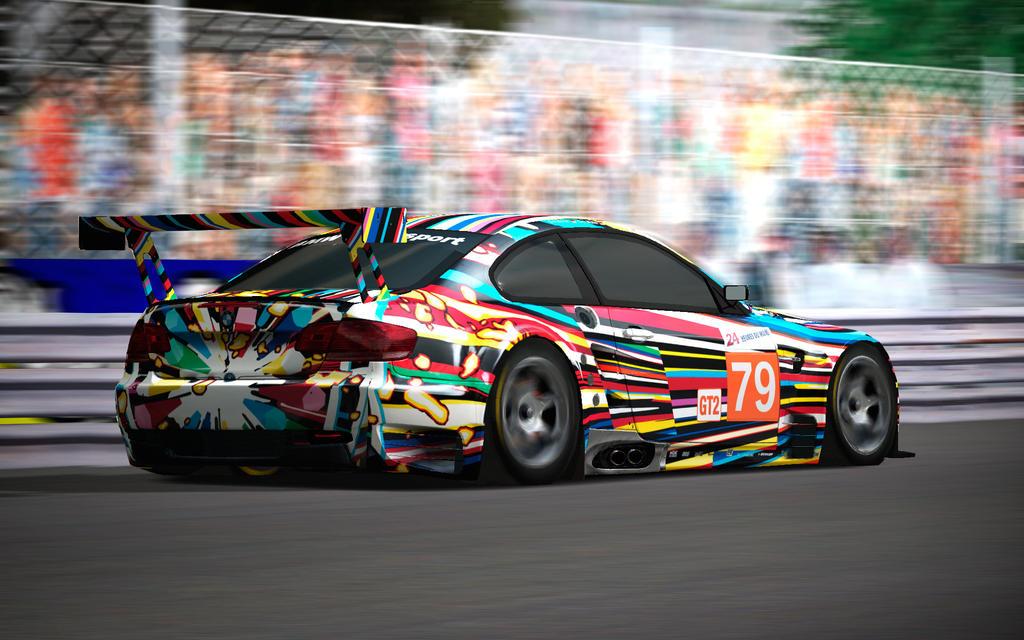 http://fc05.deviantart.net/fs70/i/2010/154/c/e/Jeff_Koons_BMW_M3_GT2_Art_Car2_by_ZowLe.jpg