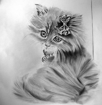 CAT small by emmakissiesArt