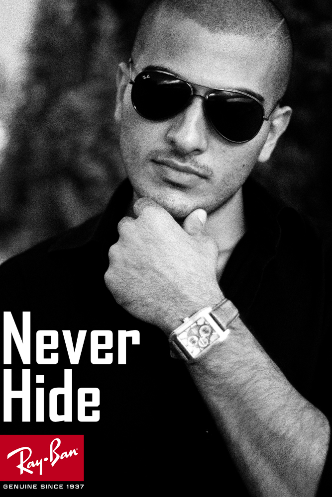 ray ban sunglasses advertisement