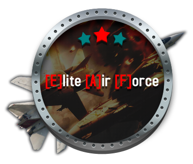 Elite Air Force Clan Logo by uicreation