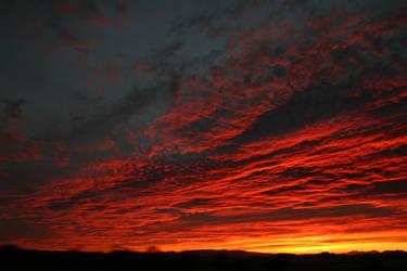Fire Sky by decari