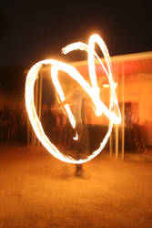 Fire Spinning by decari