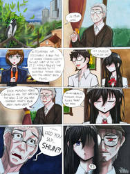 Hideki's grandfather (oc comic)