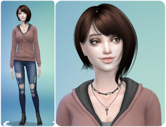 Sims 4- Willow Baker by SnowCrowe