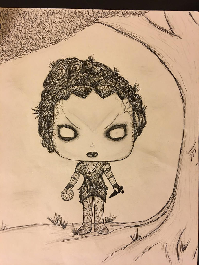 Leaf Funko Pop Game of Thrones children of forest by conwaysuccess