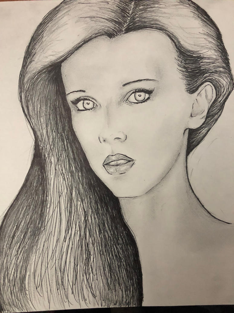 Pencil Pen Woman by conwaysuccess