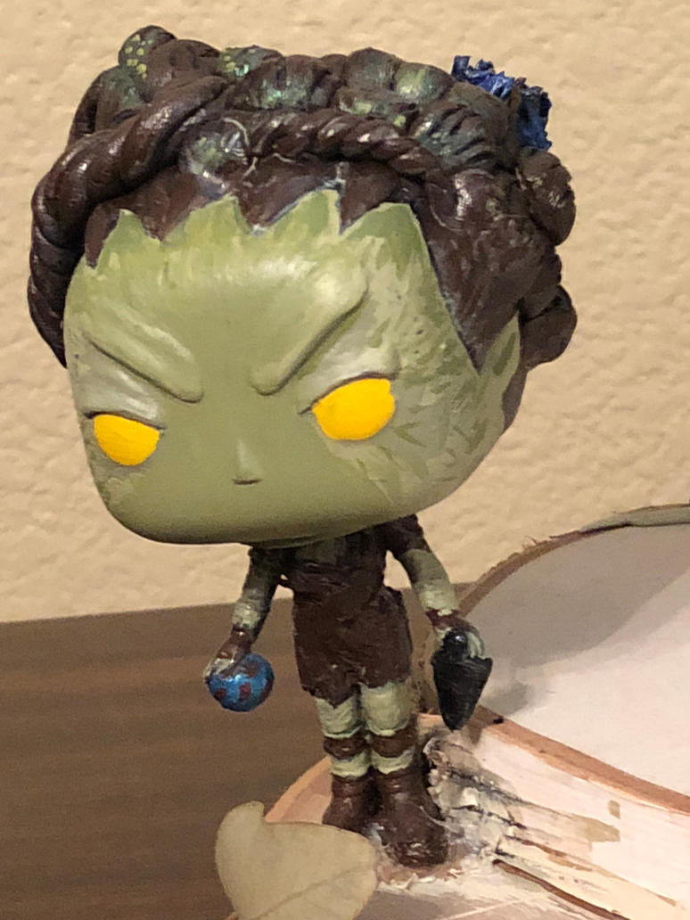 Leaf Children Forest Game of Thrones Custom Funko by conwaysuccess