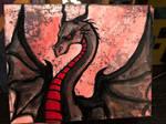 Dragon acrylic
