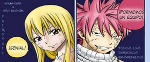 Fairy Tail Cap226 Lucy y Natsu