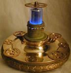 Steampunk Airship gear lamp