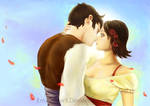 The first kiss by EmiliaPaw5