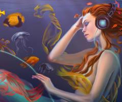 Mermaid close-up by EmiliaPaw5