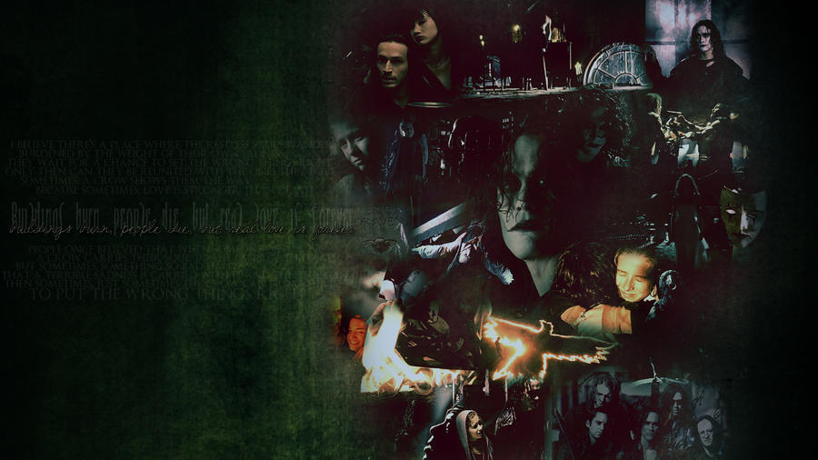 the crow wallpaper by Sara-Devestation on DeviantArt
