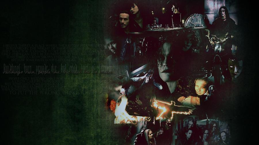 the crow wallpaper by Sara-Devestation on DeviantArt