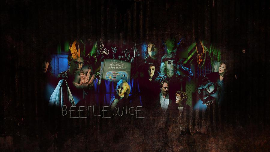 beetlejuice wallpaper by sara devestation on deviantart