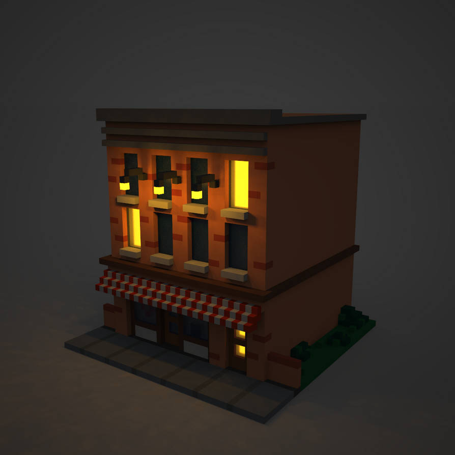 Magicavoxel png
