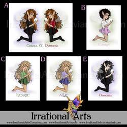 Kassnea print options by IrrationalArts