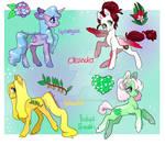 Flower Ponies, CLOSED