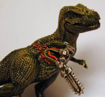 robot T rex by Megashades