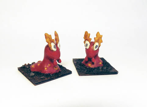 Slugma fire elementals