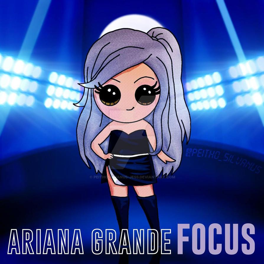 Ariana Grande Draw So Cute Focus By Peithosilvanus Jess On