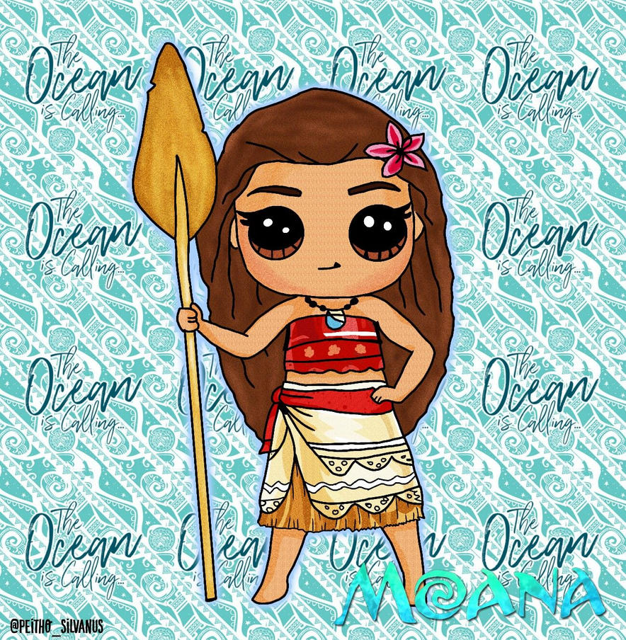 Good Moana // Draw So Cute By Peithosilvanus Jess ...
