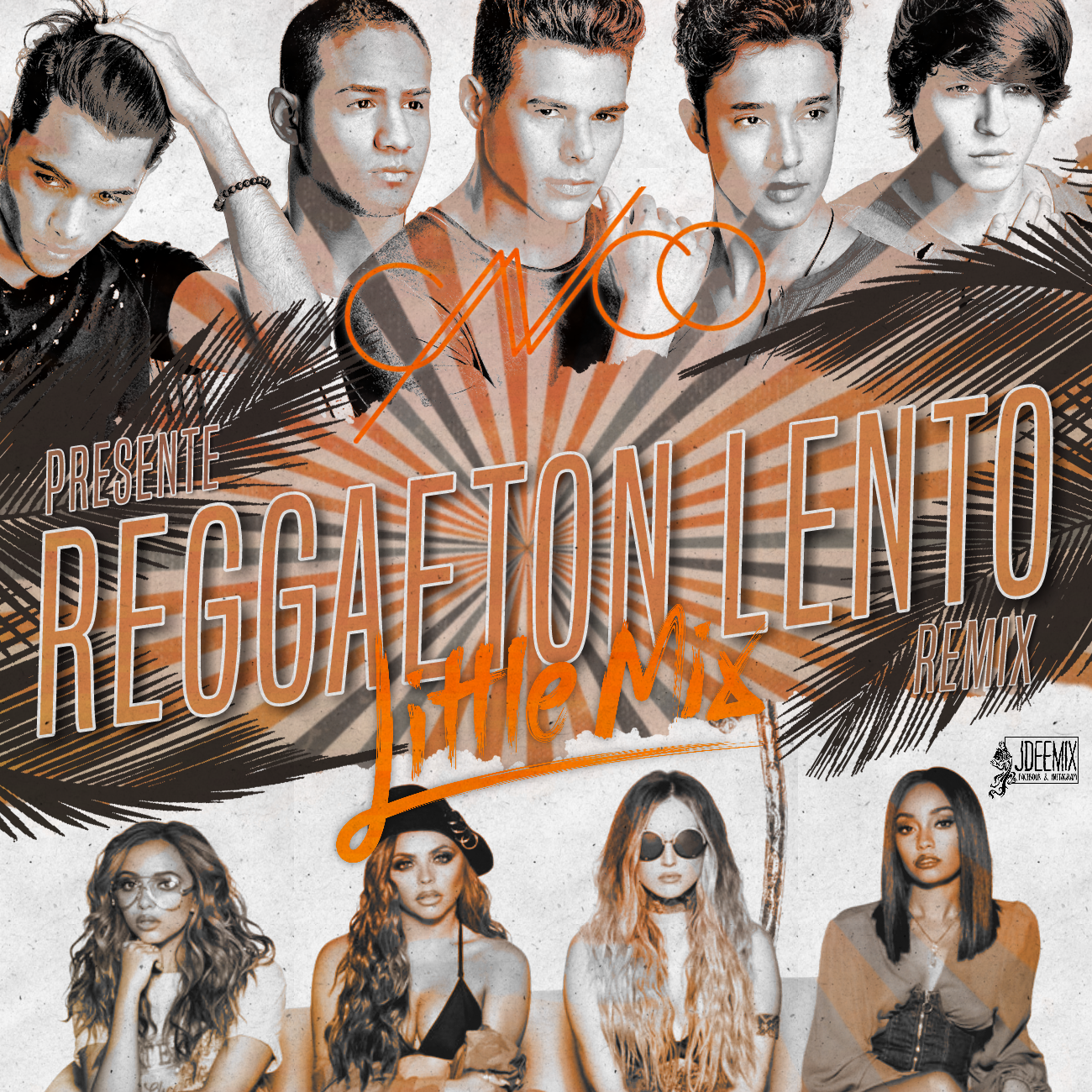 CNCO / Little Mix - Reggaeton Lento